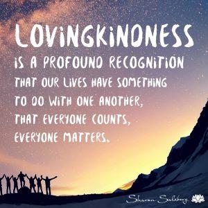 Lovingkindness - Sharon Salzberg