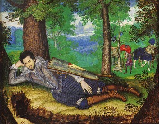 Edward Herbert 1st Baron Herbert of Cherbury by Isaac Oliver