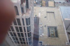 My Thumb over Downtown Atlanta 2003